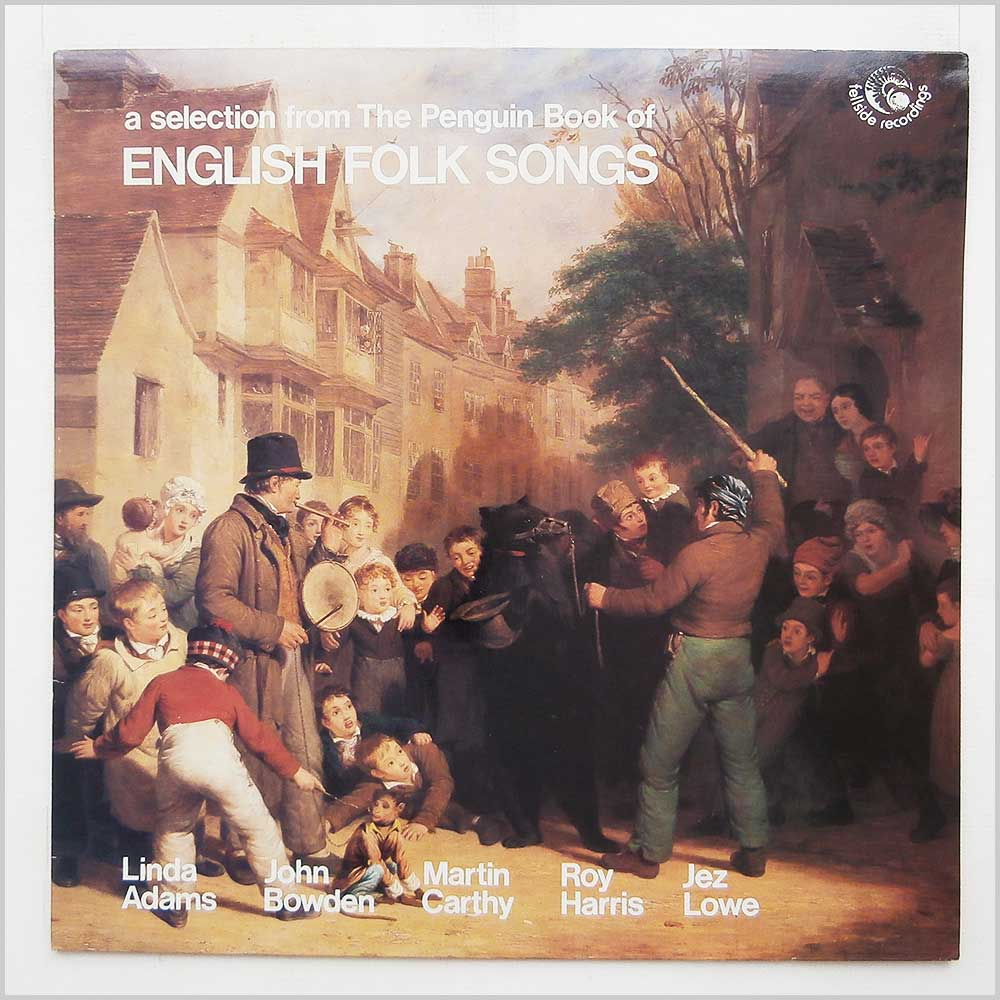 Various - The Penguin Book Of English Folk Songs (FE047)