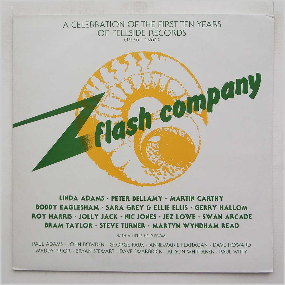 Various - Flash Company A Celebration Of The First Ten Years Of Fellside Records (1976-1986) (FE050)