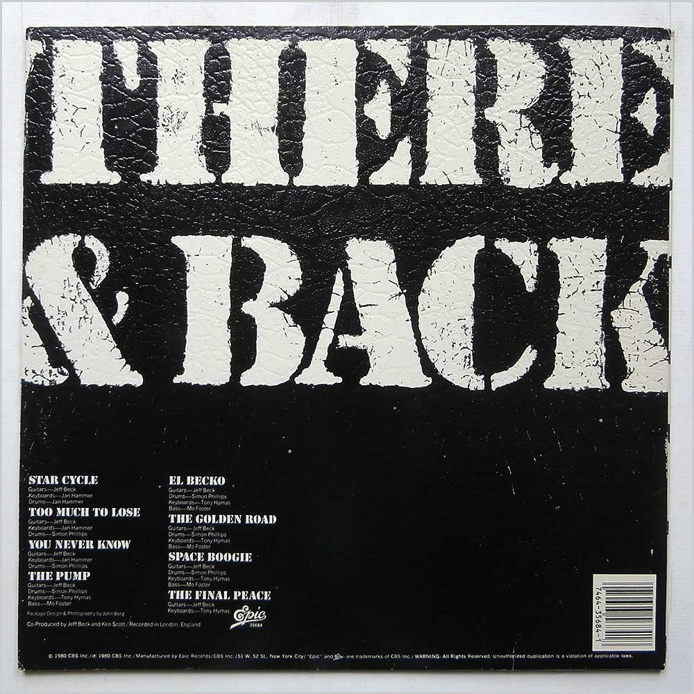 Jeff Beck - There And Back (FE 35684)