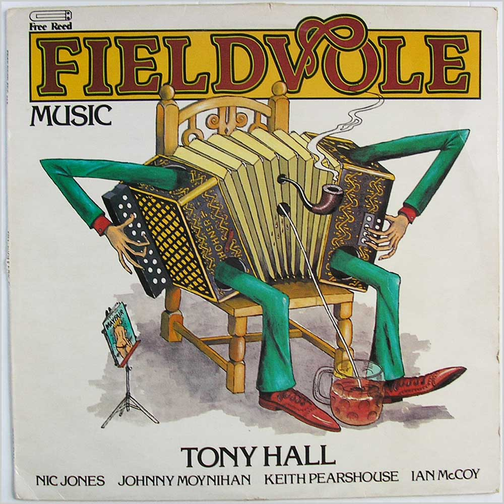 Tony Hall - Fieldvole (FRR012)