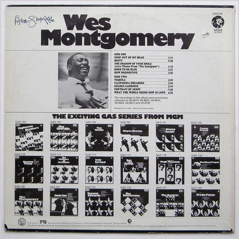 Wes Montgomery - Wes Montgomery (GAS 120)