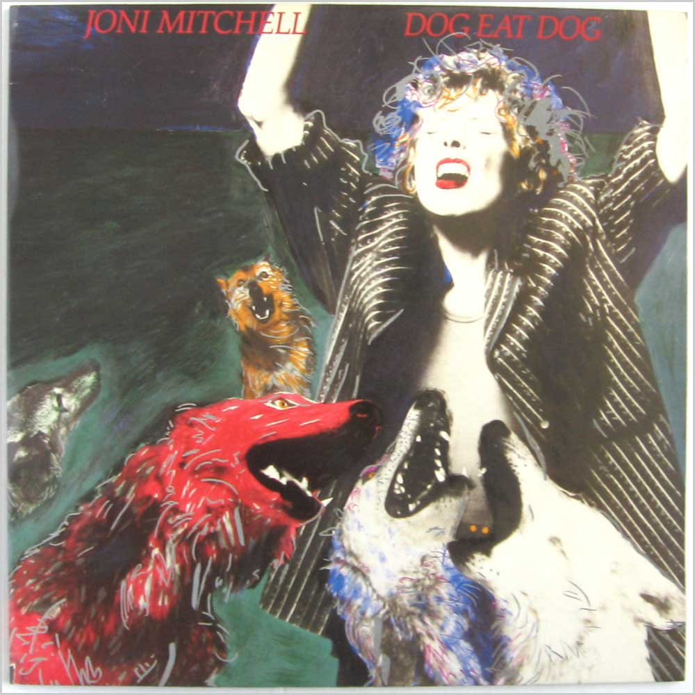 Joni Mitchell - Dog Eat Dog (GEF 26455)