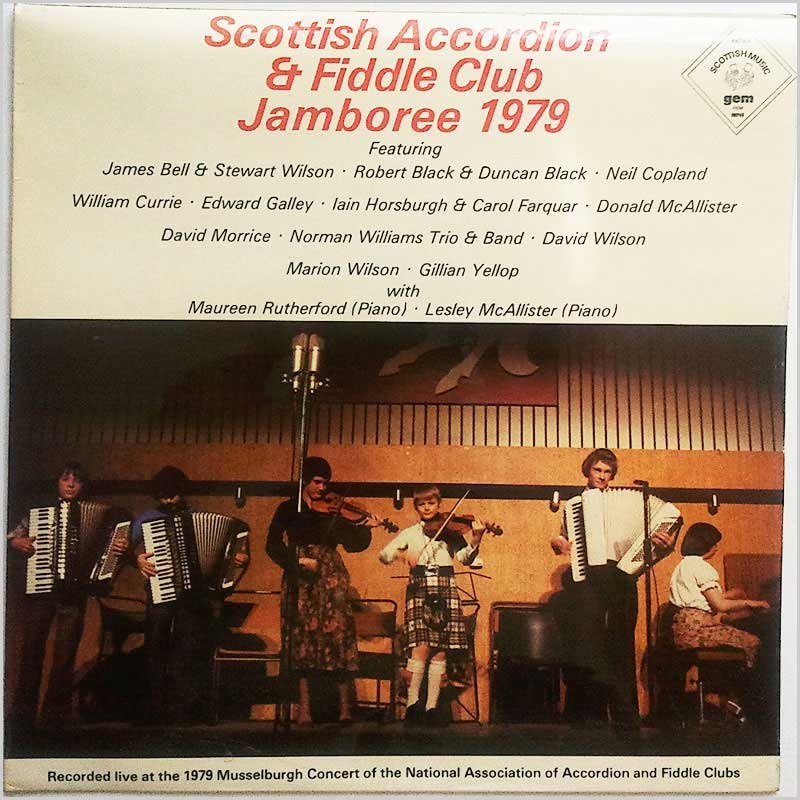 Various - Scottish Accordion & Fiddle Club Jamboree 1979 (GES 1209)