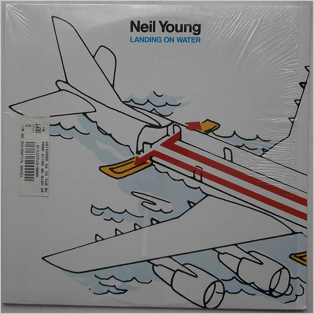Neil Young - Landing On The Water (GHS 24109)