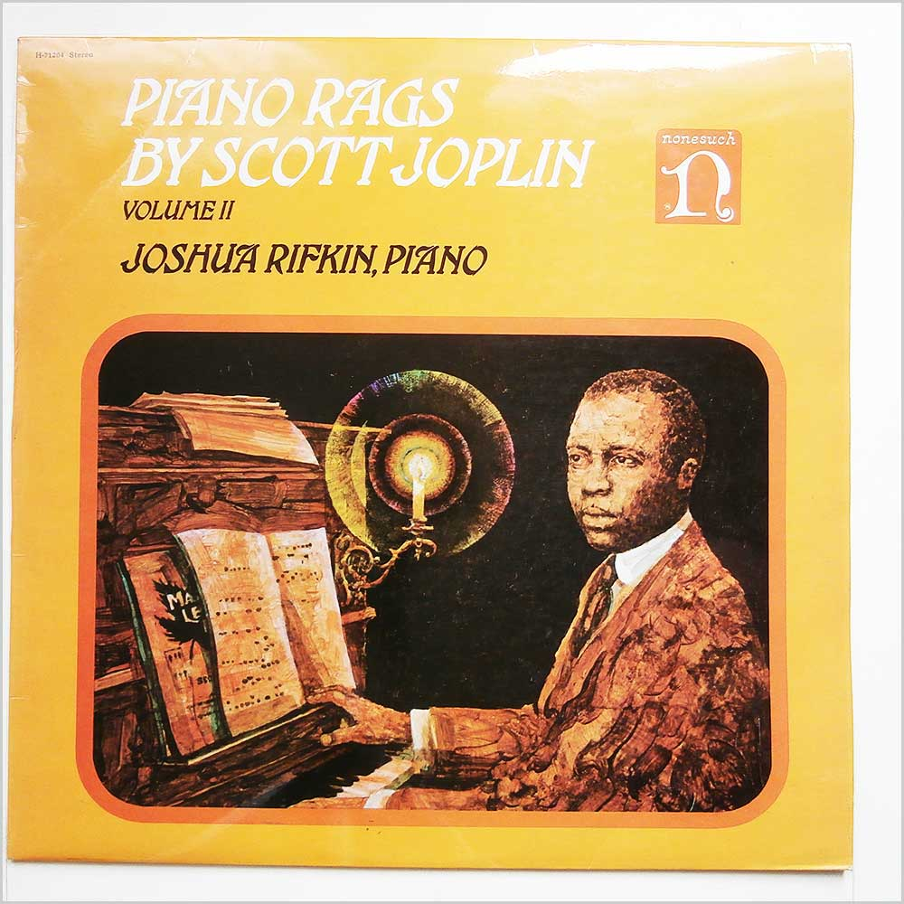 Joshua Rifkin - Piano Rags By Scott Joplin Volume II (H-71264)