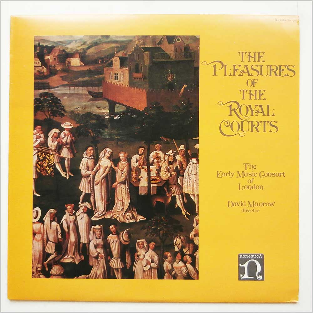 The Early Music Consort Of London - The Pleasures Of The Royal Courts (H-71326)