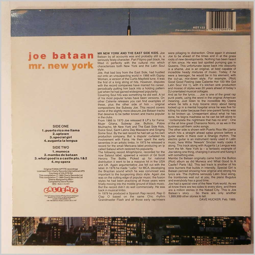 Joe Bataan - Mr. New York (HOT 122)