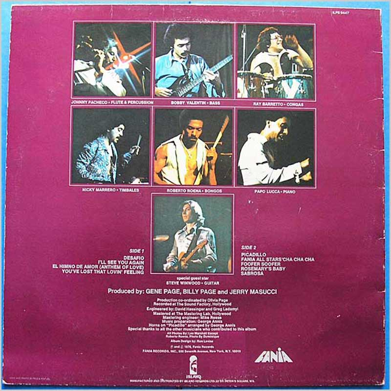 Fania All Stars - Delicate And Jumpy (ILPS 9447)