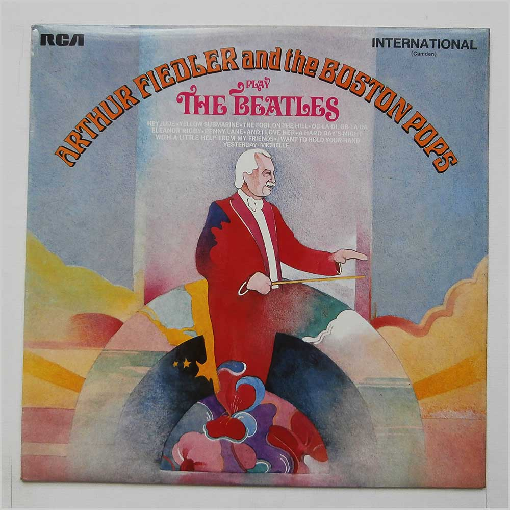 Arthur Fielder And The Boston Pops - Arthur Fiedler And The Boston Pops Play The Beatles (INTS 1165)