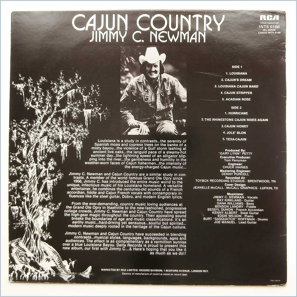Jimmy C. Newman - Cajun Country (INTS 5186)