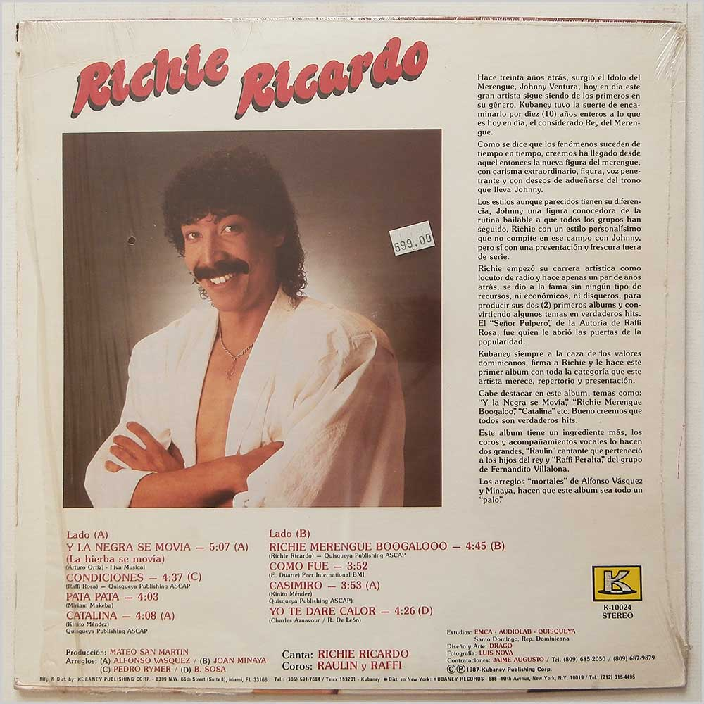 Richie Ricardo - El Natural (K-10024)