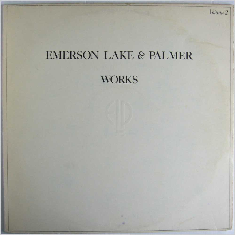 Emerson Lake & Palmer - Works Volume 2 (K 50422)