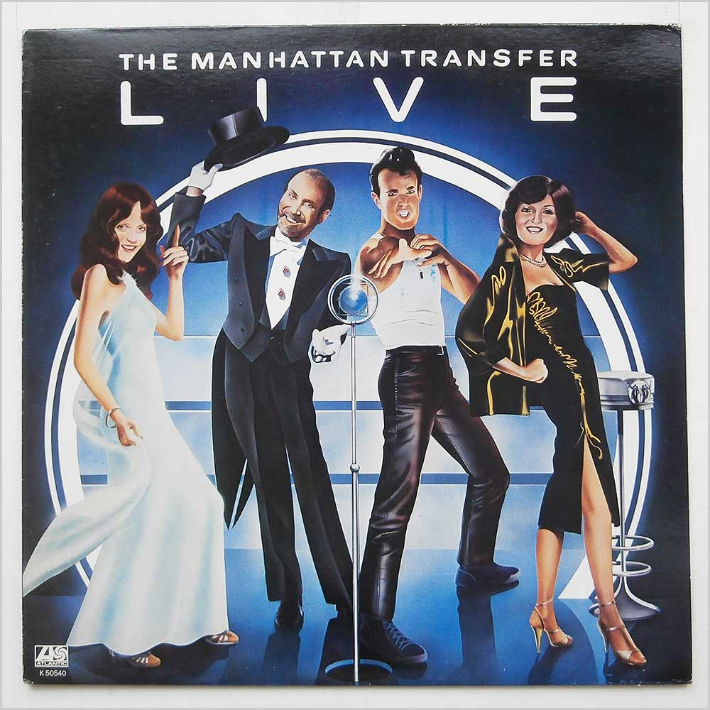 The Manhattan Transfer - The Manhattan Transfer Live (K 50540)
