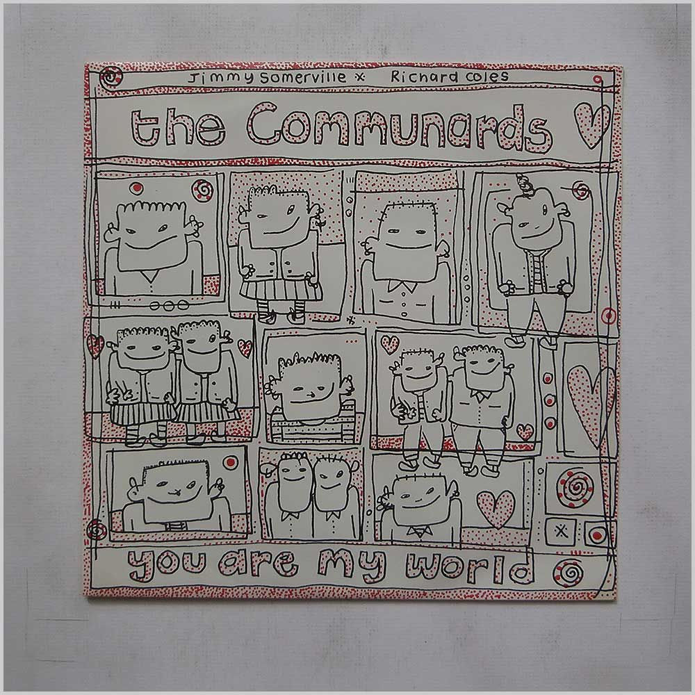 The Communards - You Are My World (LONT 77)