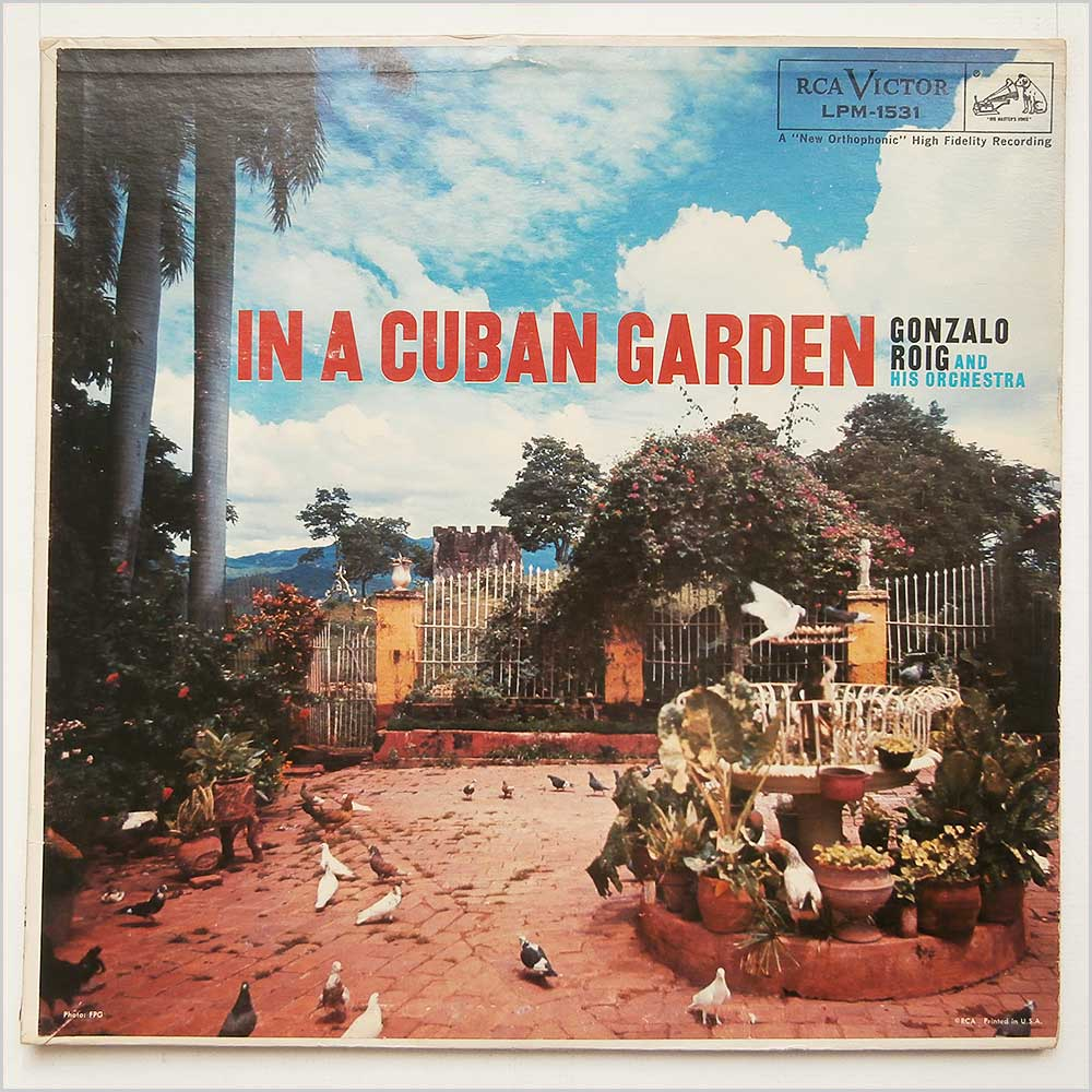 Gonzalo Roig And His Orchestra - In A Cuban Garden (LPM-1531)