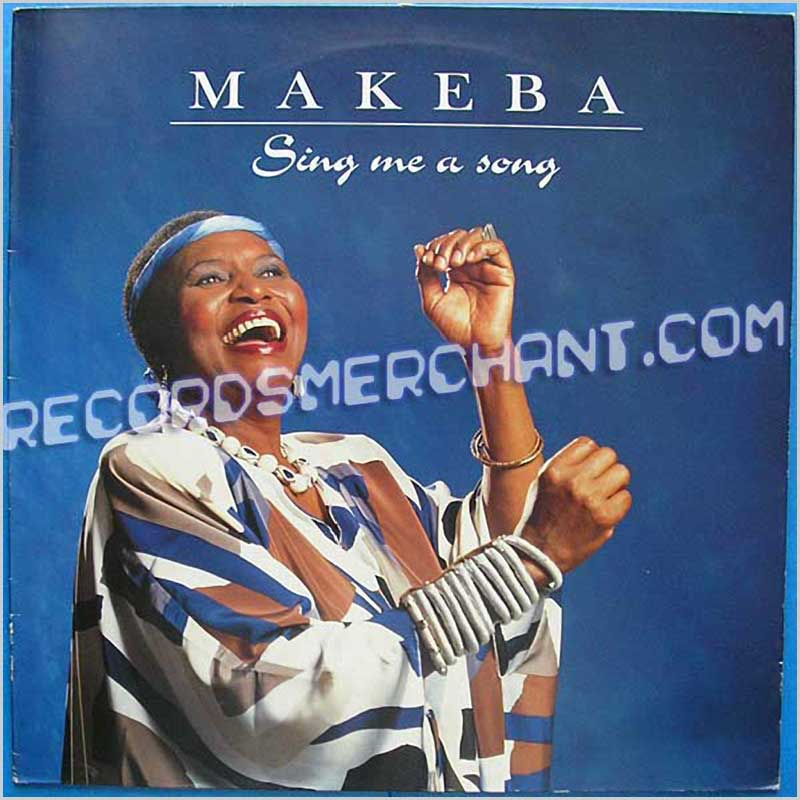 Miriam Makeba - Sing Me A Song (LPS 12702)