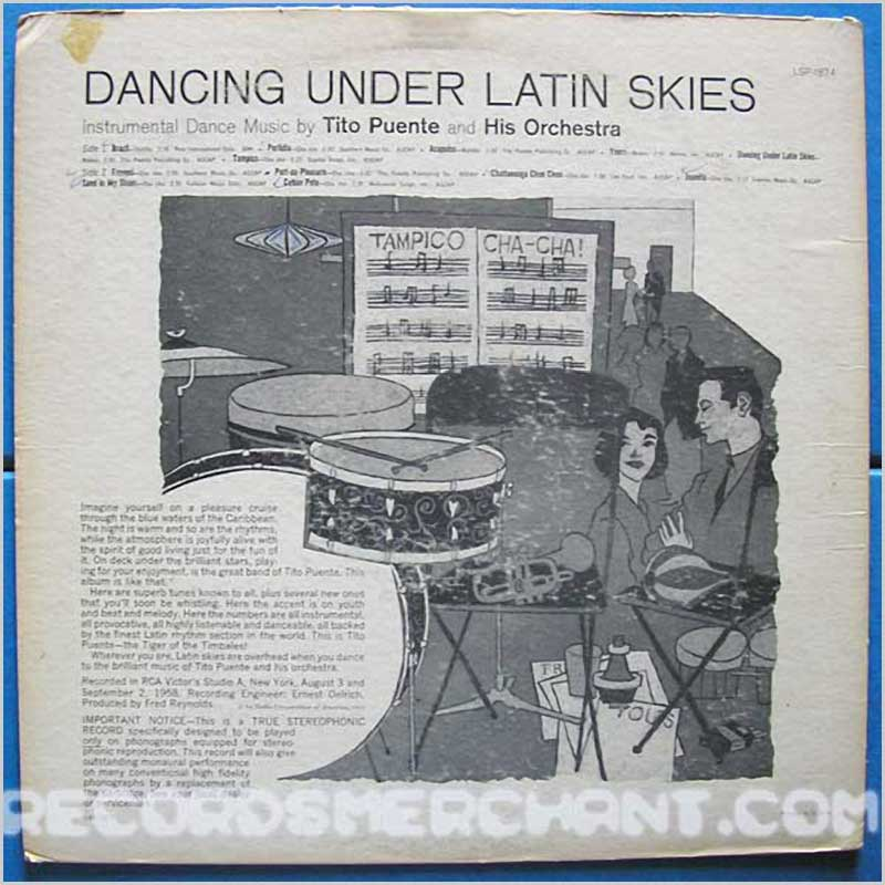 Tito Puente - Dancing Under Latin Skies (LSP1874)