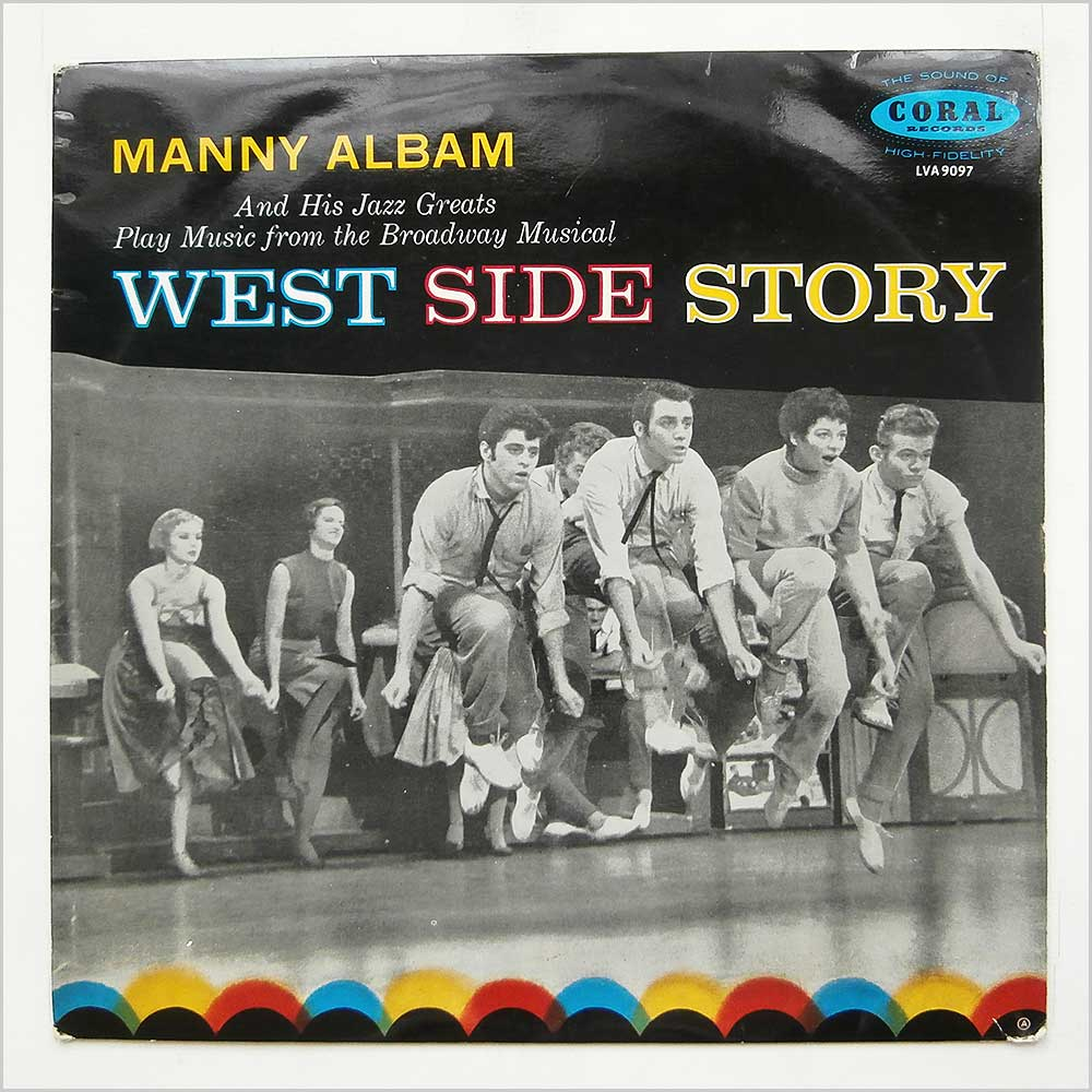 Manny Albam And His Jazz Greats - West Side Story (LVA 9097)