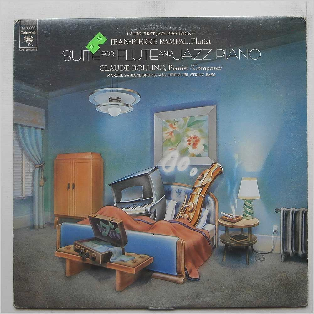 Jean-Pierre Rampal and Claude Bolling - Suite For Flute And Jazz Piano (M 33233)