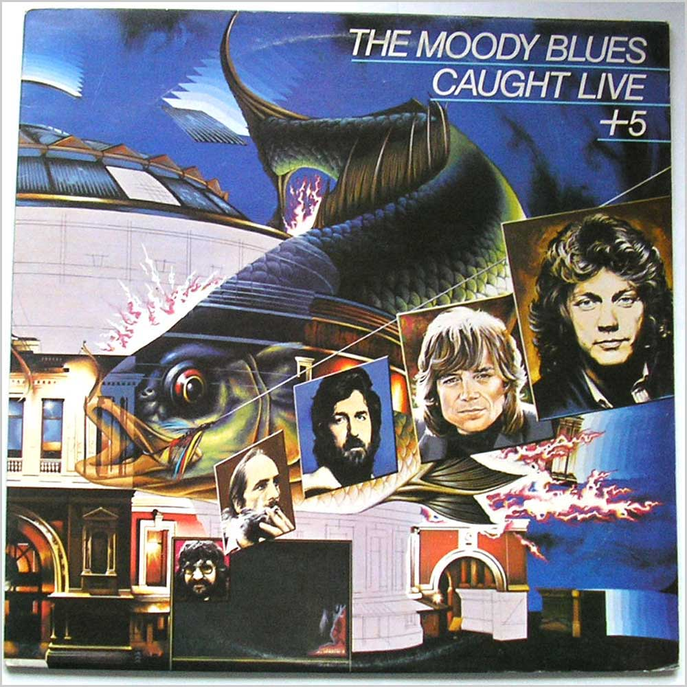 The Moody Blues - Caught Live +5 (MB 3/4)