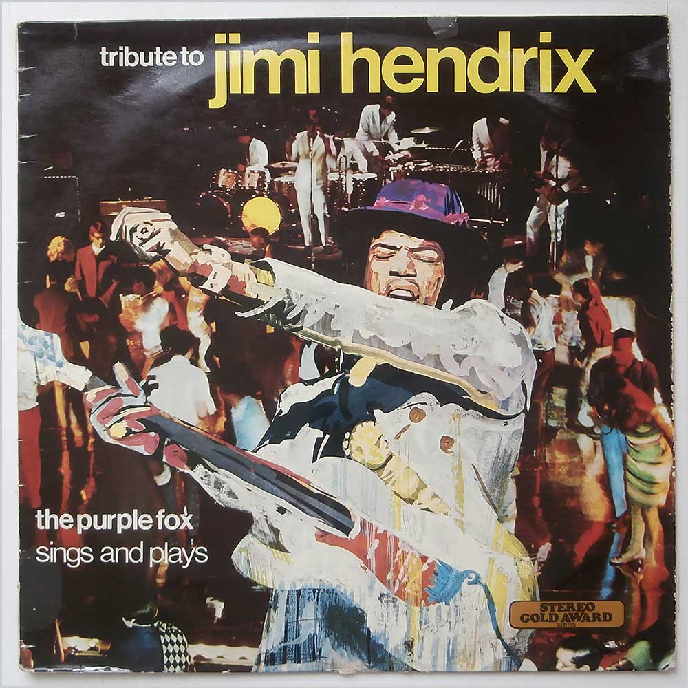 The Purple Fox - Tribute To Jimi Hendrix (MER 340)