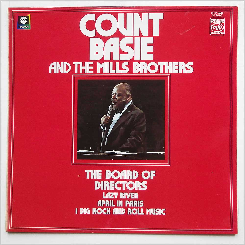 Count Base And The Mills Brothers - The Board Of Directors (MFP 50255)