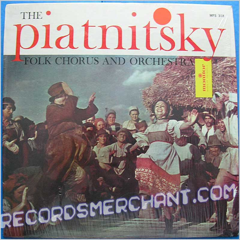 The Piatnitsky Folk Chorus And Orchestra - Russian Songs and Dances (MFS 318)