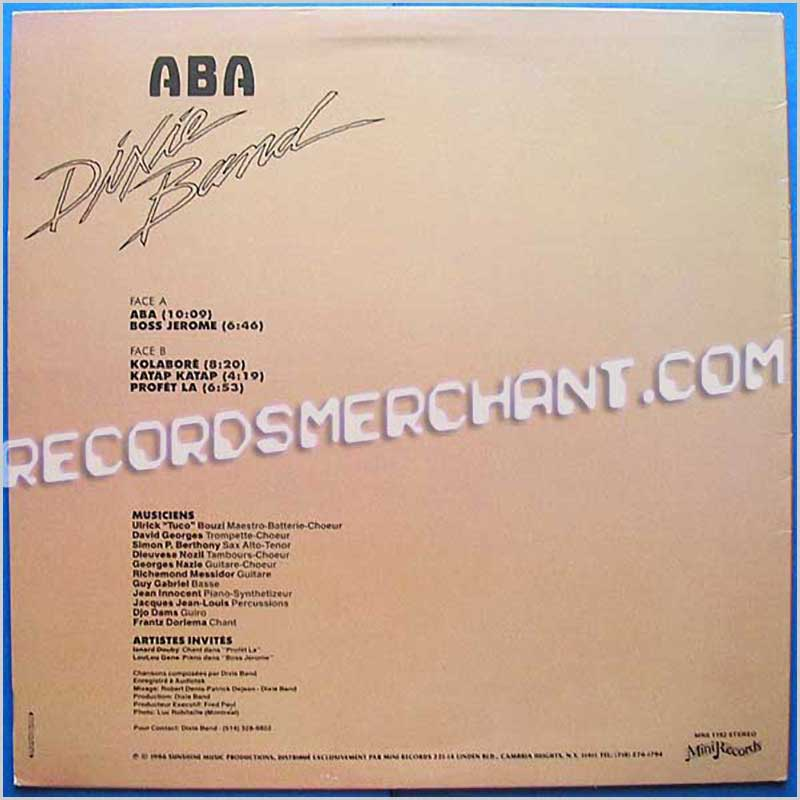 Dixie Band - Aba (MRS 1192)