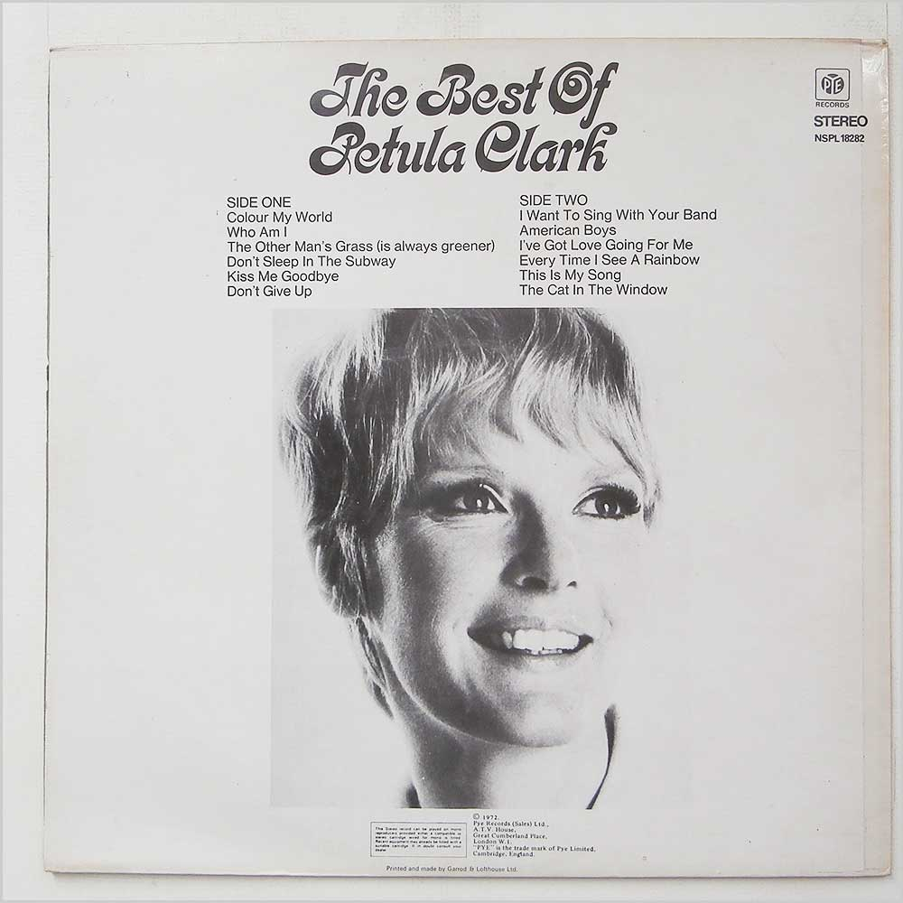 Petula Clark - The Best Of Petula Clark (NSPL 18282)