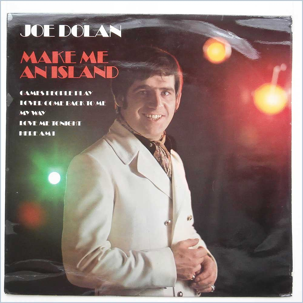 Joe Dolan - Make Me An Island (NSPL 18319)