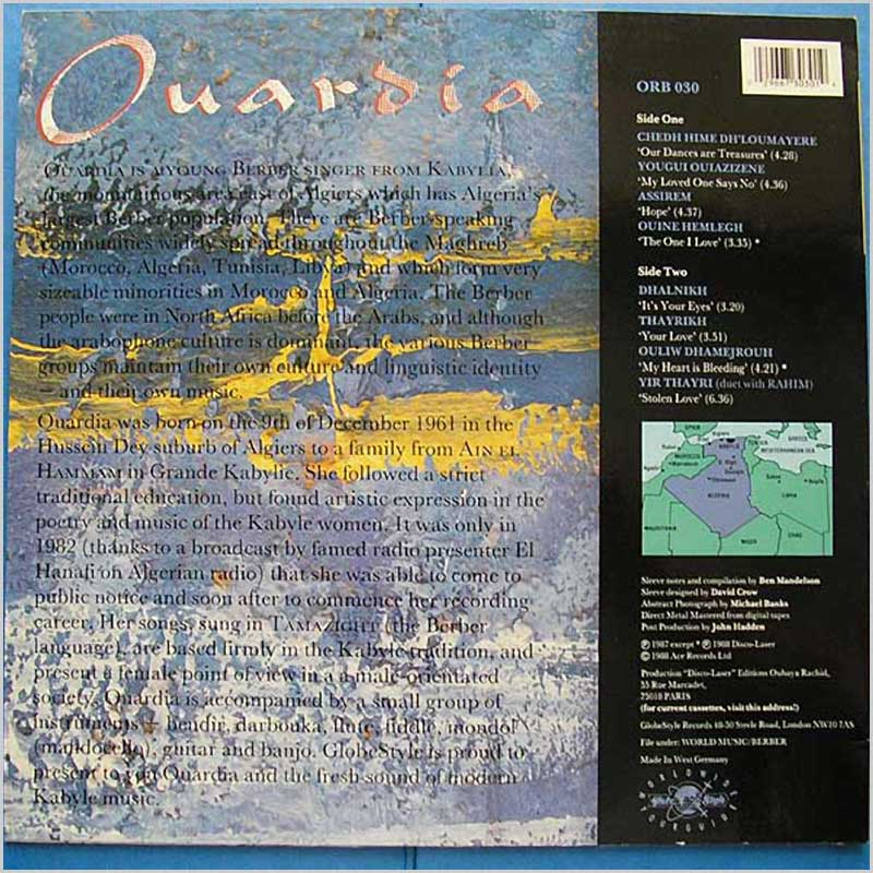 Ouardia - Assirem Modern Kabyle Music from Algeria (ORB 030)