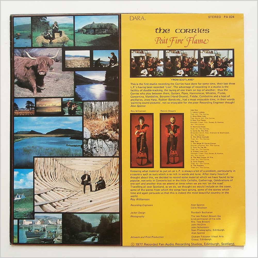 The Corries - Peat Fire Flame (PA 024)