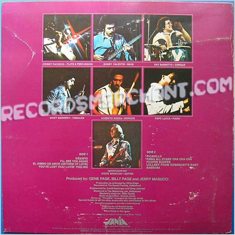 Fania All Stars - Delicate And Jumpy (PC 34283)