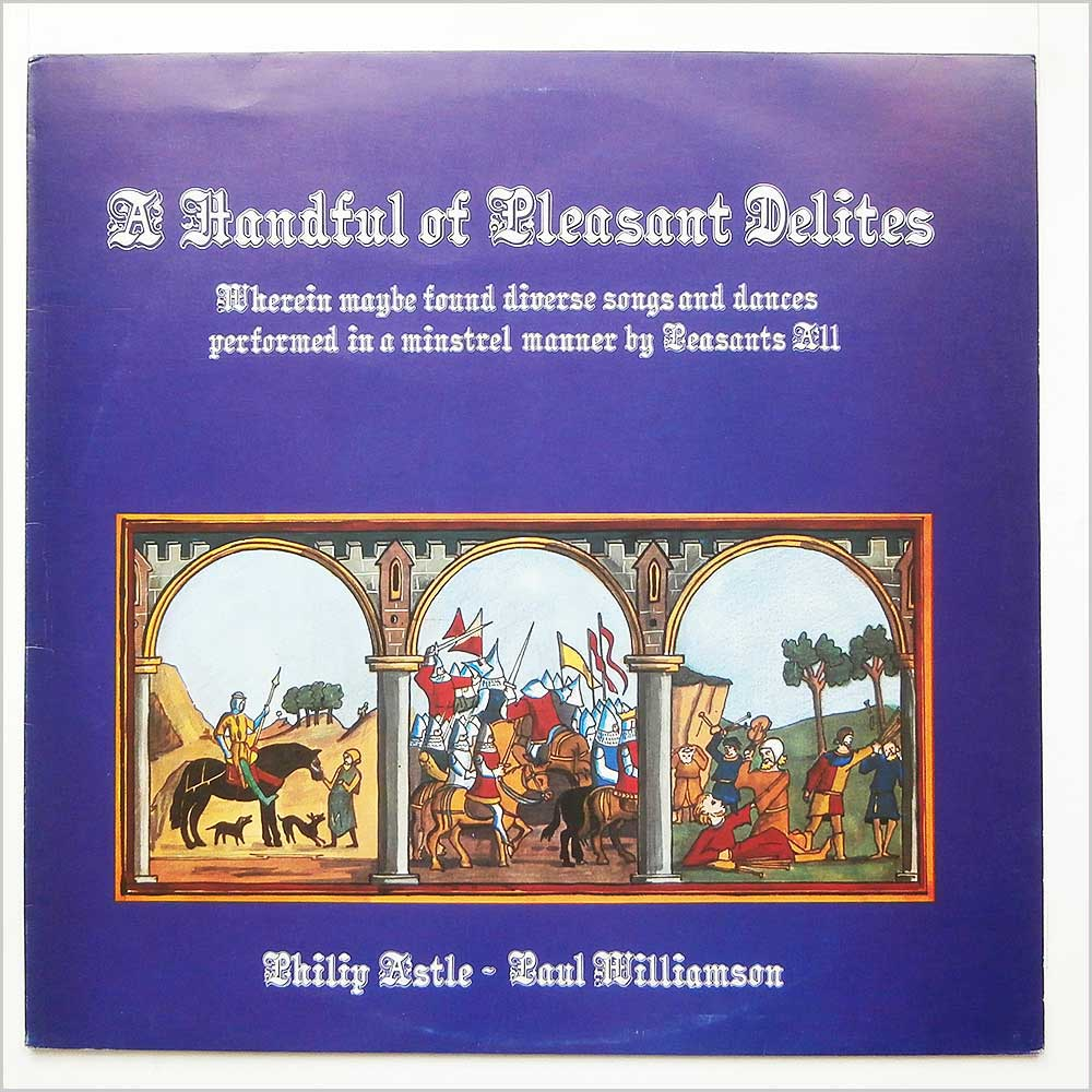 Philip Astle and Paul Williamson - A Handful Of Pleasant Delites (PLR 008)