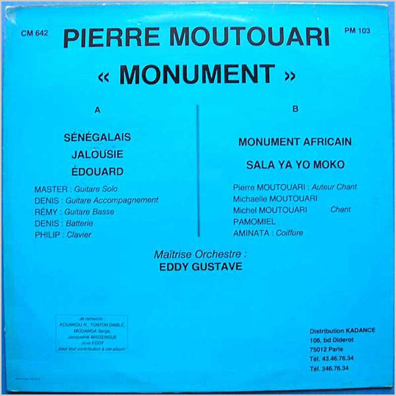 Pierre Moutouari - Monument (PM 103)