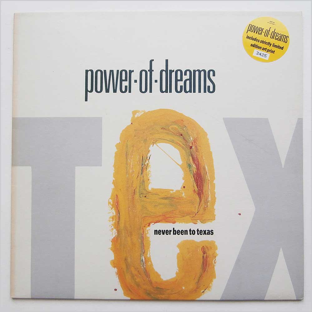 Power Of Dreams - Never Been To Texas (PZP 93)