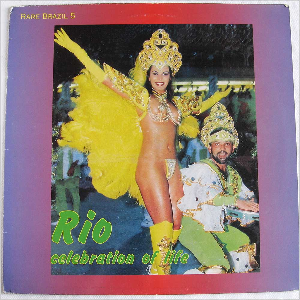 Various - Rare Brazil 5 Rio Celebration Of Life (RB005LP)