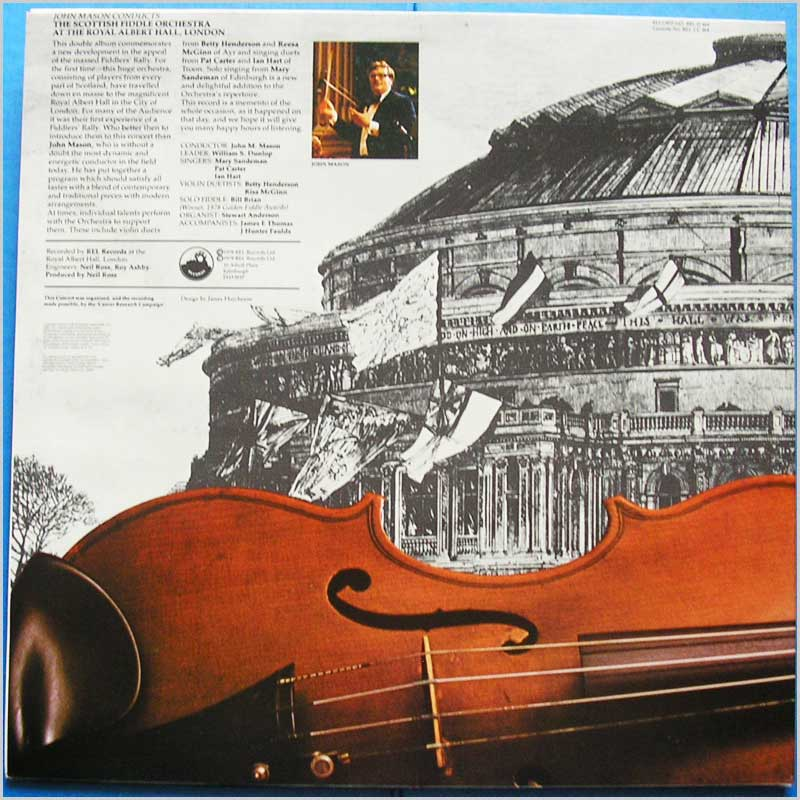 John Mason - The Scottish Fiddle Orchestra at the Royal Albert Hall (REL D 464)