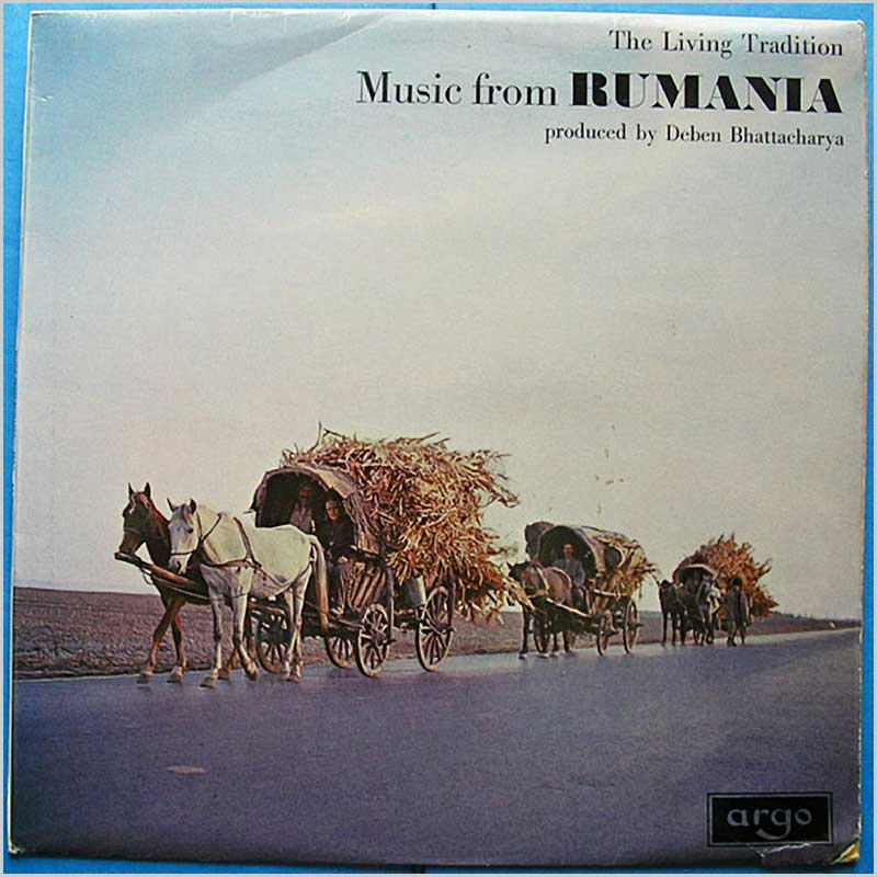 Deben Bhattacharya - The Living Tradition Music From Rumania (RG 531)