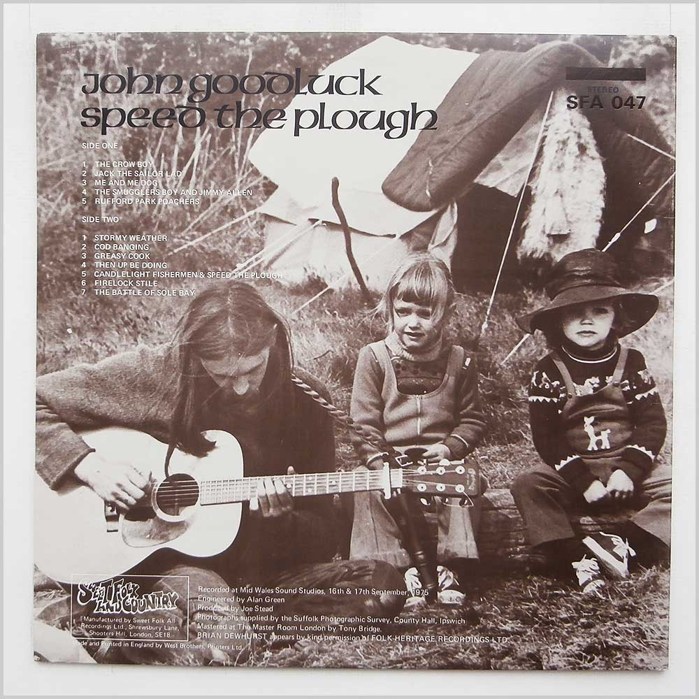 John Goodluck - Speed The Plough (SFA 047)