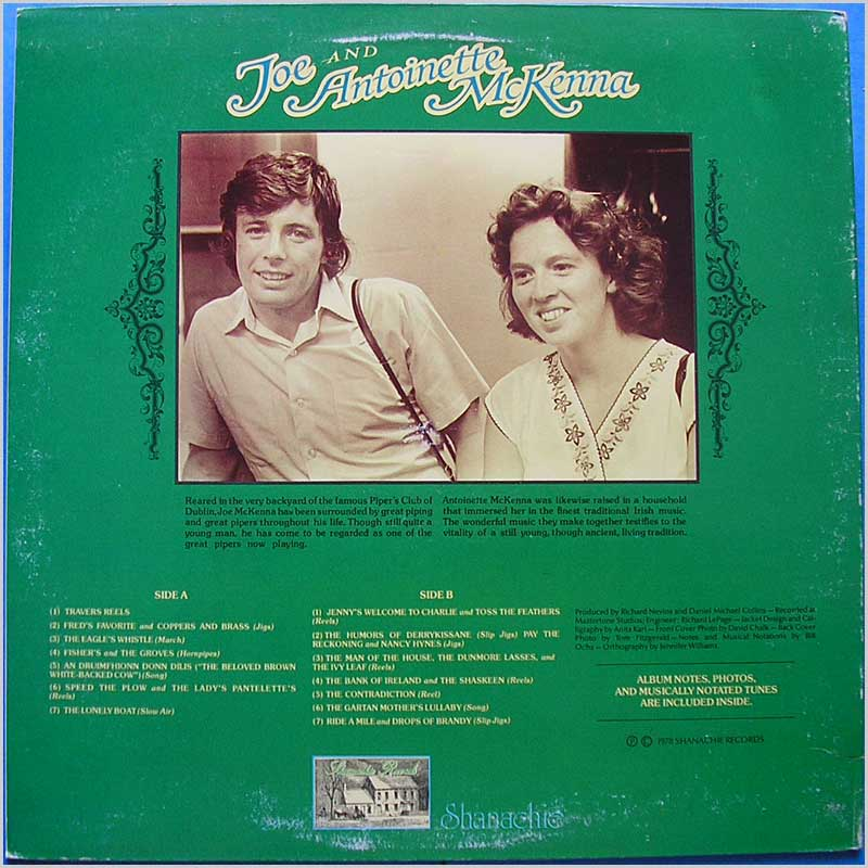 Joe & Antoinette McKenna - Traditional Music of Ireland (SH 29011)