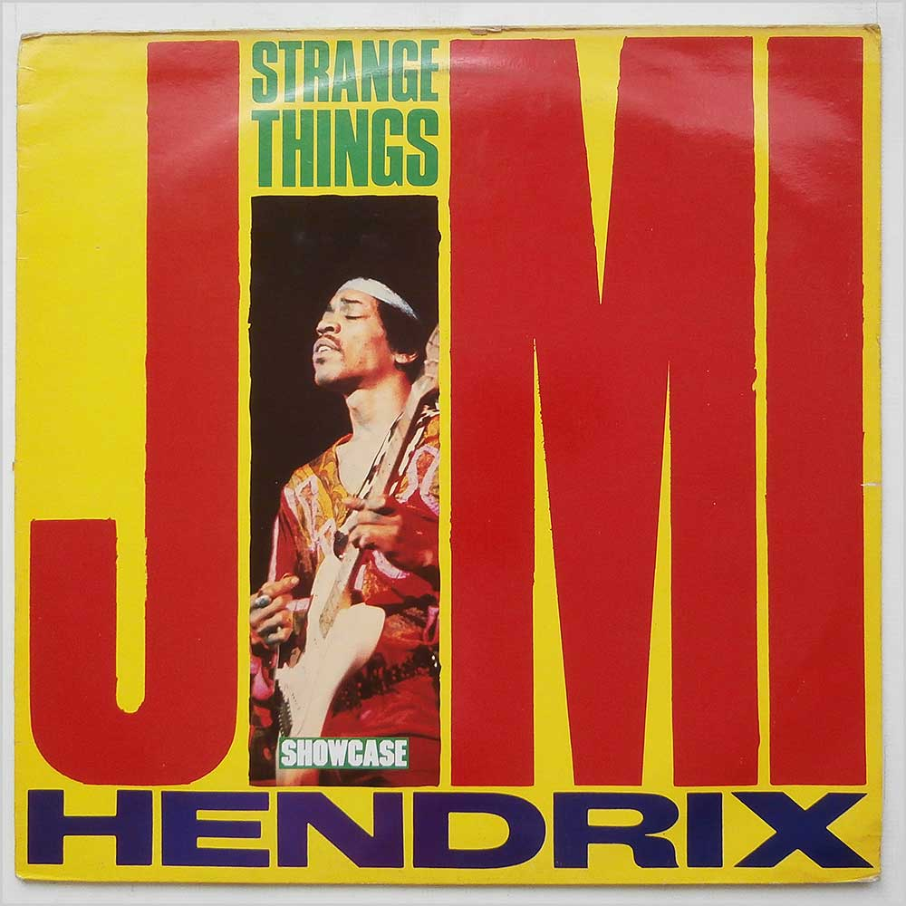 Jimi Hendrix - Strange Things (SHLP 101)