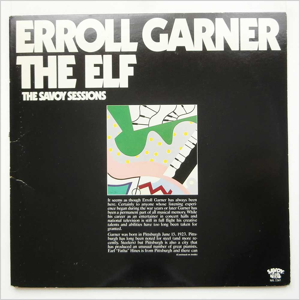 Erroll Garner - The Elf The Savoy Sessions (SJL 2207)