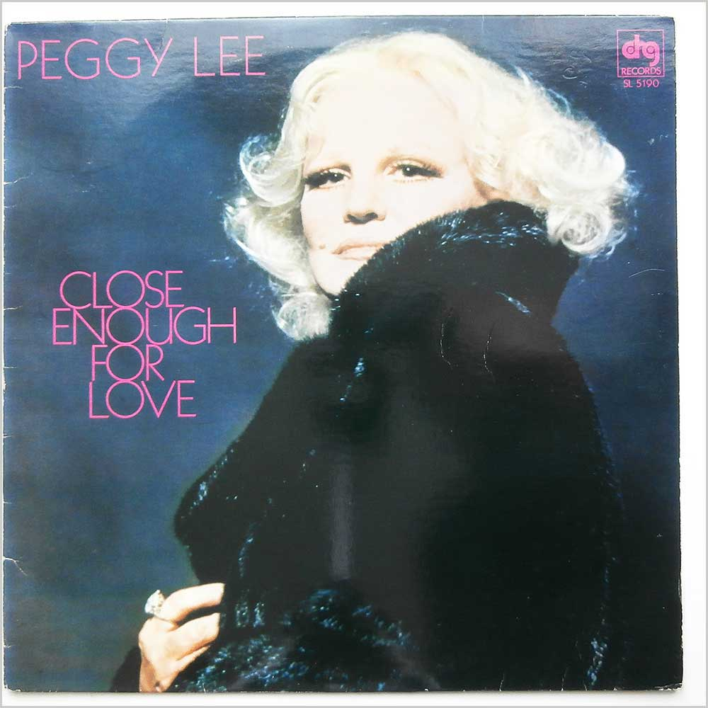 Peggy Lee - Close Enough For Love (SL 5190)