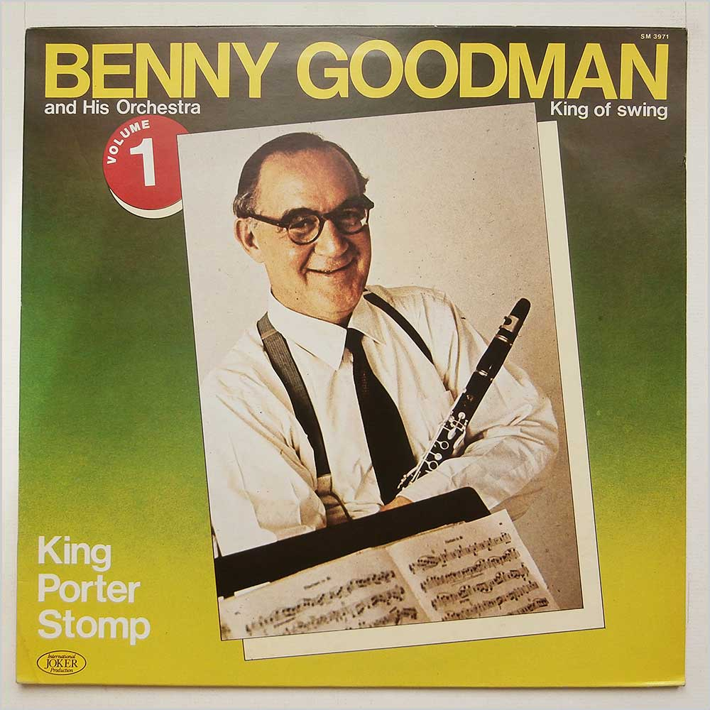 Benny Goodman - Benny Goodman And His Orchestra King Of Swing Volume 1 (SM 3971)