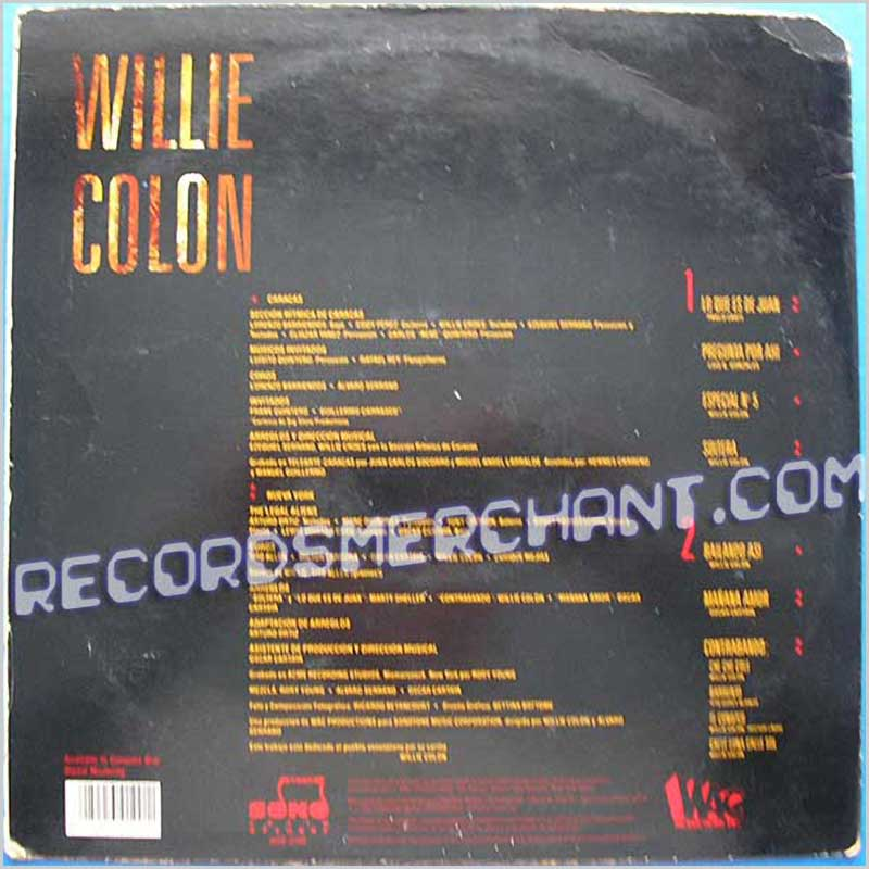 Willie Colon - Especial No 5 (SOP-0100)