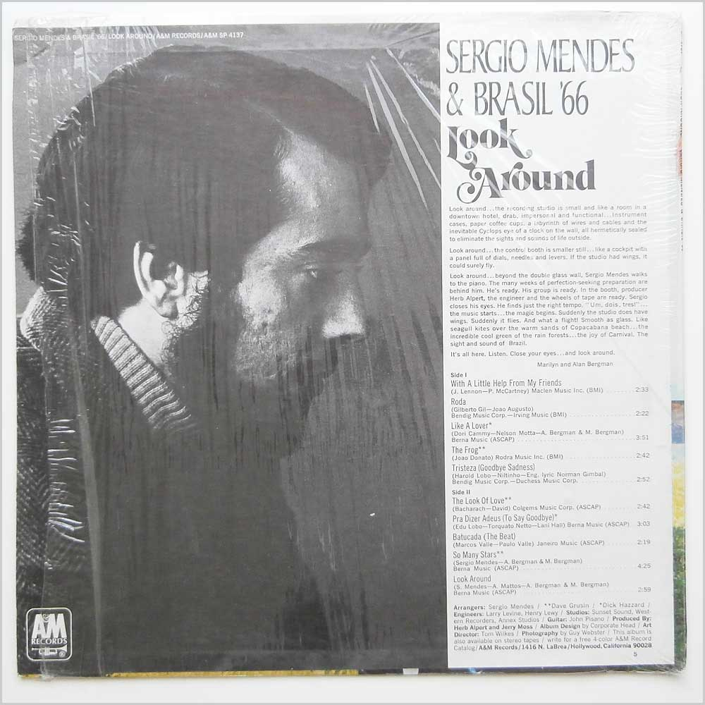 Sergio Mendes & Brasil '66 - Look Around (SP 4137)