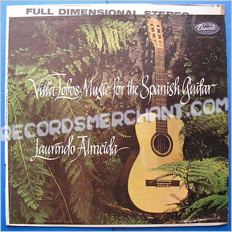 Laurindo Almeida - Villa Lobos: Music For The Spanish Guitar (SP8497)