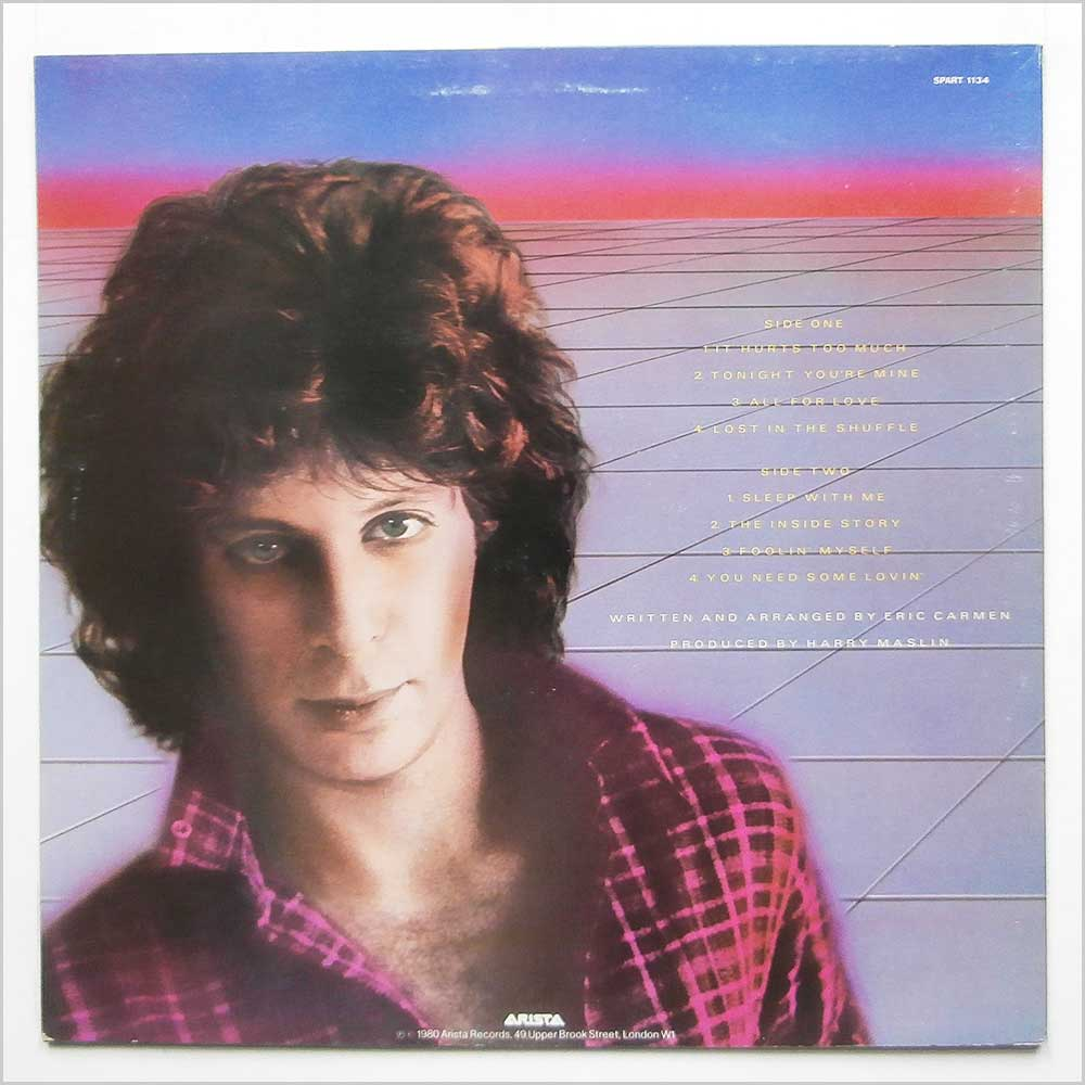 Eric Carmen - Tonight You're Mine (SPART 1134)