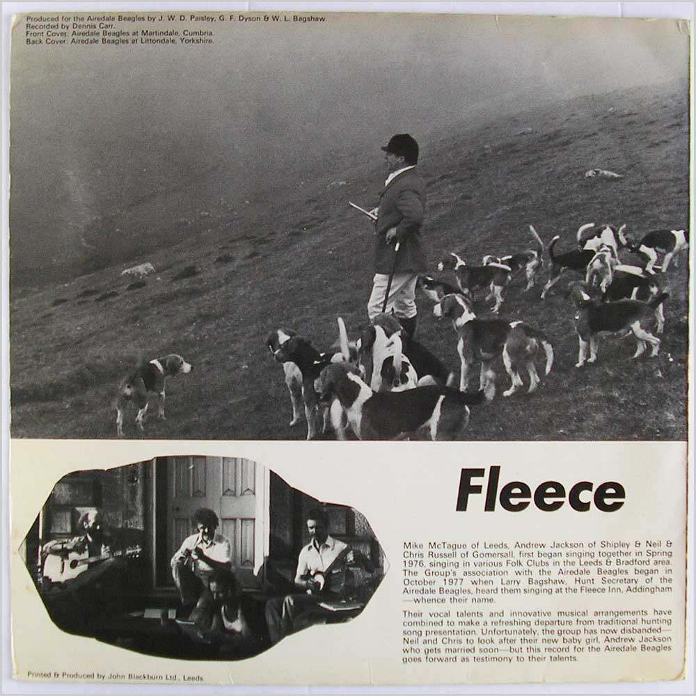 Fleece - Music Of The Hounds (SR 3306)